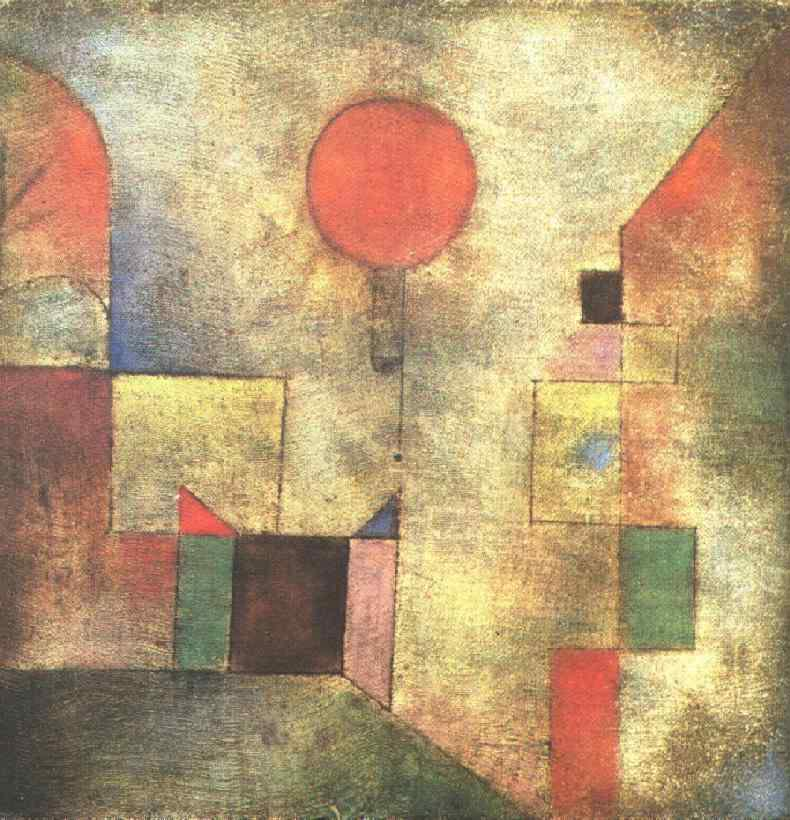 Paul Klee. Red balloon. 1922