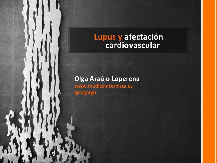 Lupus y afectación cardiovascular