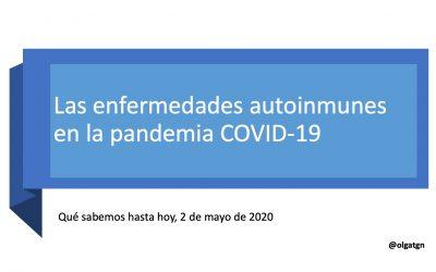 Las enfermedades autoinmunes y la infección por COVID-19