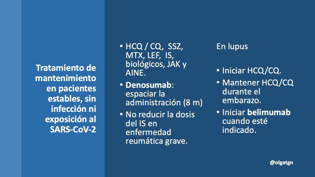 COVID-19, enfermedades autoinmunes
